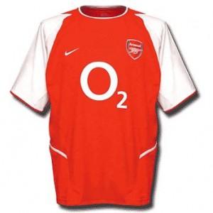 Arsenal-trøje-hjemme-2002-2004