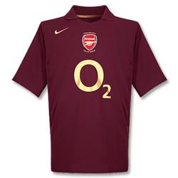 Arsenal-trøje-hjemme-2005-2006