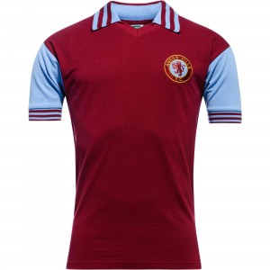 Aston-Villa-trøje-hjemme-1980-81