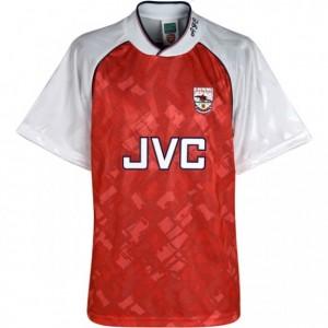 arsenal-trøje-hjemme-1991-92