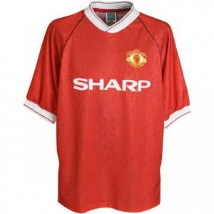 manchester-united-trøje-hjemme-1990-1992