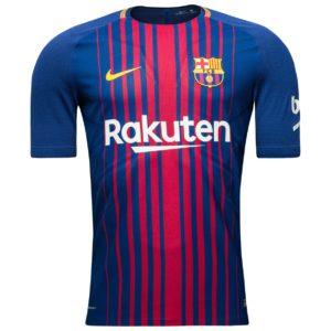Barcelona-trøje-hjemme-2017-18