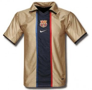 Barcelona-trøje-tredje-2002-2003