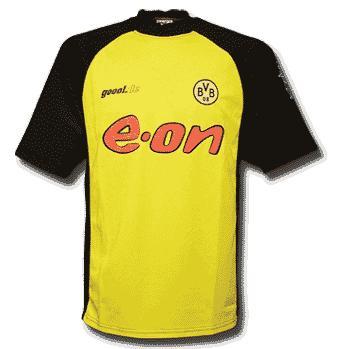 Dortmund-trøje-hjemme-2002-2003