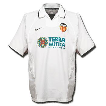 Valencia-trøje-hjemme-2002-2003