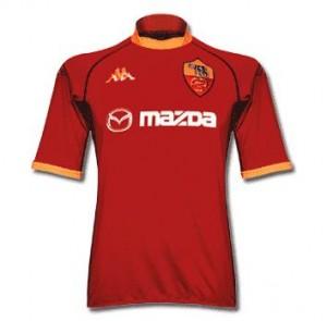 Roma-trøje-hjemme-2002-2003