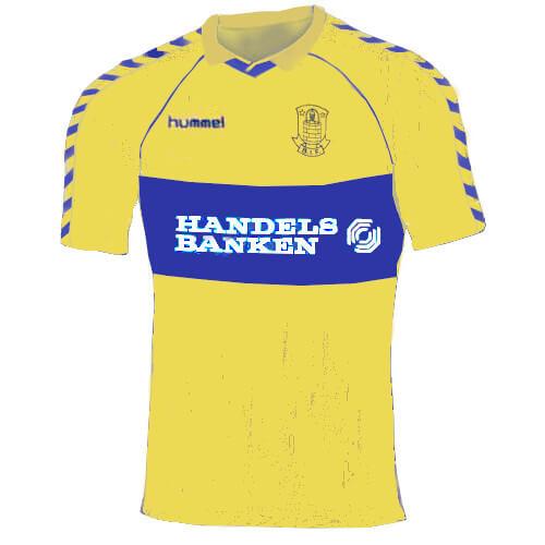 Brøndby trøje 1988-89 hjemme