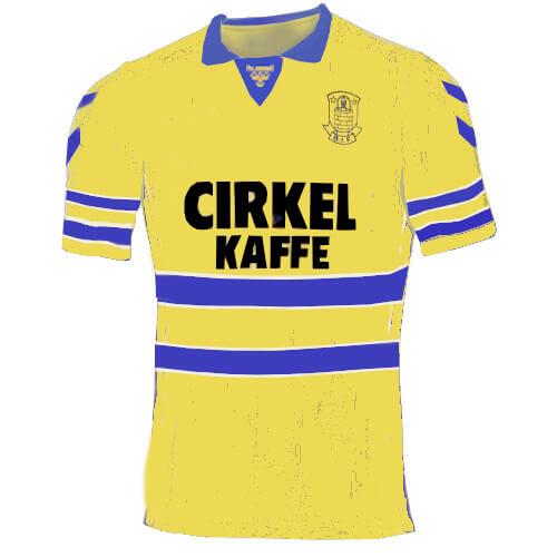 Brøndby trøje 1989-90 hjemme