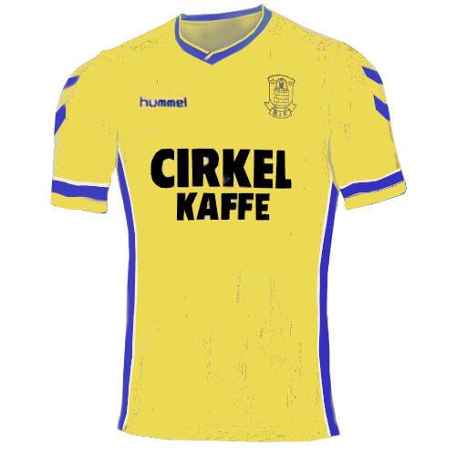 Brøndby trøje 1990-92 hjemme