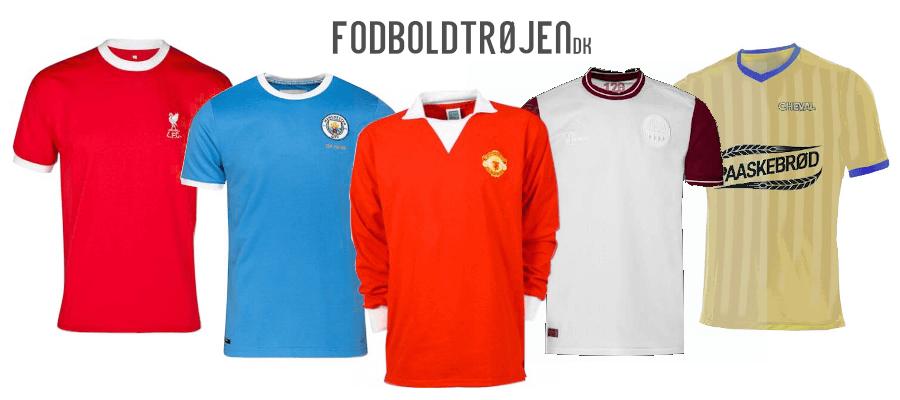 Gamle fodboldtrøjer - Fodboldtrøjen.dk