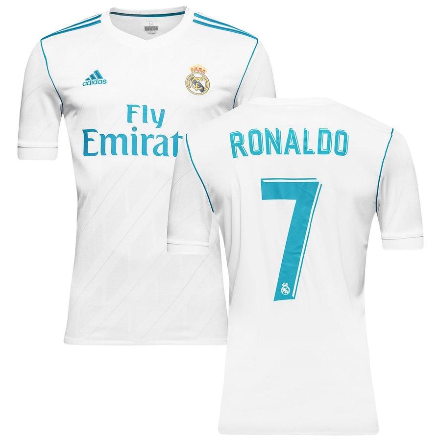 Ronaldo trøje - Real Madrid hjemme 2017 2018